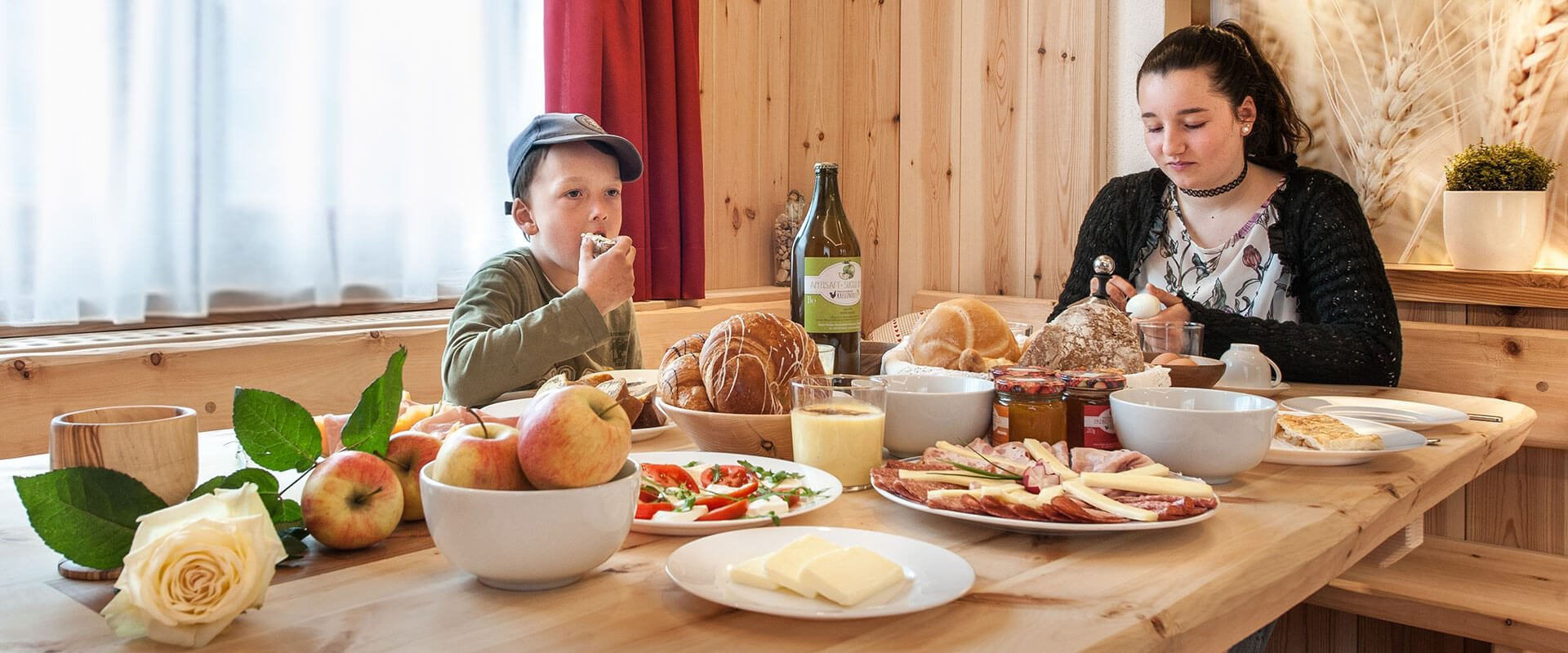 Urlaub auf dem Bauernhof in Lüsen am Kreuznerhof