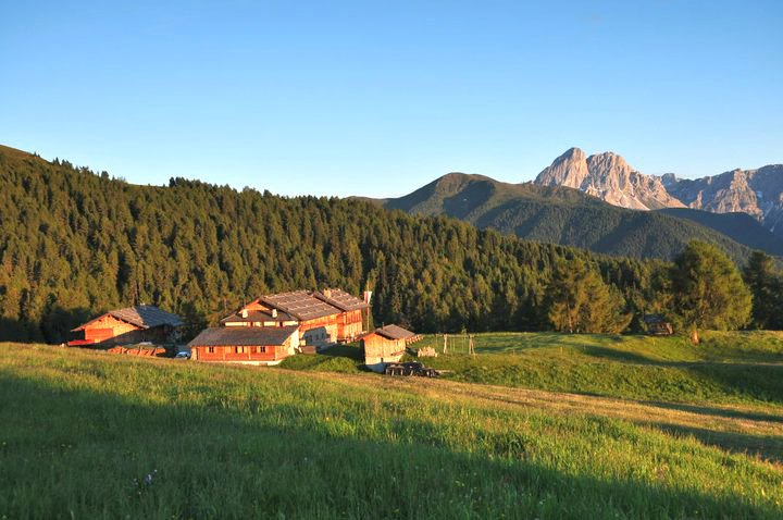 Hiking holiday in the Dolomites - Beautiful hikes on the Lüsner Alm